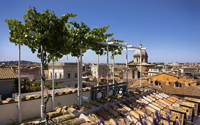 Foto Terrazze romane: lo spettacolo della capitale dall'alto