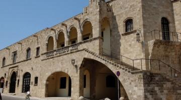 La Galleria municipale d'Arte nel Palazzo del Gran Maestro a Rodi