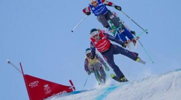 La Coppa del Mondo di ski cross che si terrà sulle  piste nere della Côte 2000 dall'11 al 15 marzo