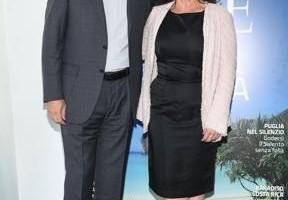 Simona Tedesco, direttore di DOVE, con Pietro Scott Jovane, amministratore  delegato    di RCS MediaGroup (ph Giulio Tanzini/SGP)