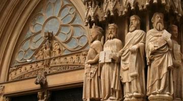 La Cattedrale medievale, uno dei gioielli di Toledo (foto Getty)