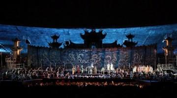 Turandot , capolavoro di Puccini, all'Arena di Verona  dal 5 luglio. Foto Ennevi, per gentile concessione della Fondazione Arena di Verona