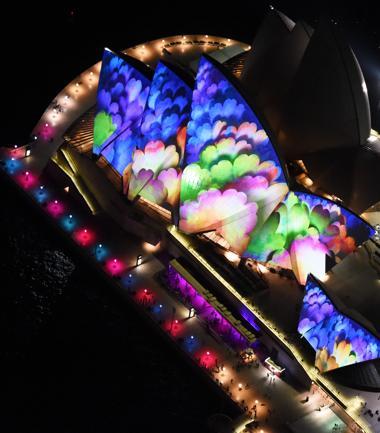 Sydney: esplode il festival delle luci