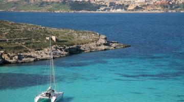 Gozo: la Blue Lagoon (foto Alamy Milestone Media)