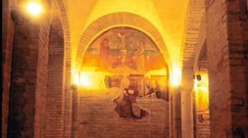 La cripta della Cattedrale di Penne