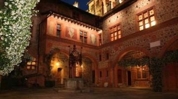Il complesso storico che ospita l'Orto Botanico di Alpinia, pr
