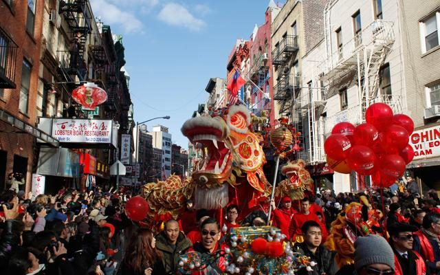 Foto Capodanno Cinese: le parate più belle