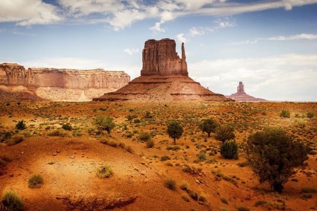 The Monument Valley, scenics, USA