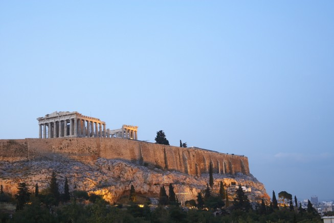 GREECE / Athens / the acropolis  © Christina Anzenberger-Fink / Anzenberger
