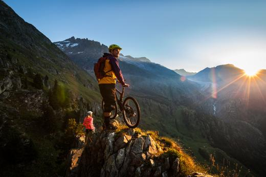 Escursione in mountainbike a Belalp
