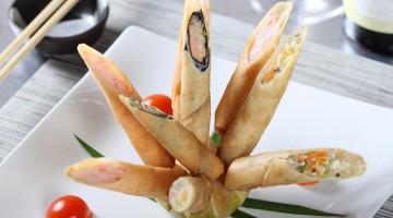 Rivisitazione in chiave moderna per gli involtini primavera al ristorante Ba – Asian Mood di Milano