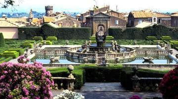 Il paesaggio di Bagnaia (foto Alamy/Milestone Media)