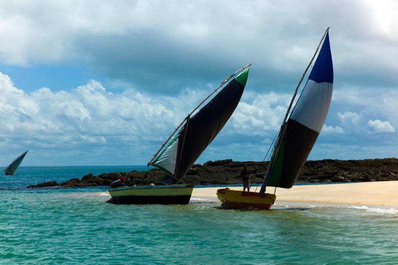 Bazaruto Island, la più grande delle cinque isole dell'omonimo arcipelago (foto Alamy/Milestone Media)