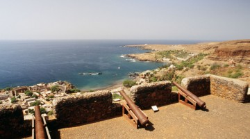 Il Fort Real di Boa Vista, a Capo Verde (foto Alamy/Milestone Media)
