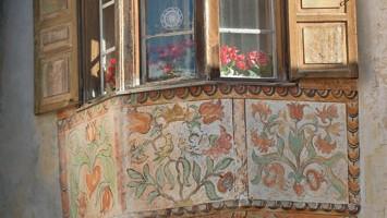 Guarda, borgo celebre per le sue case della prima metà del Seicento