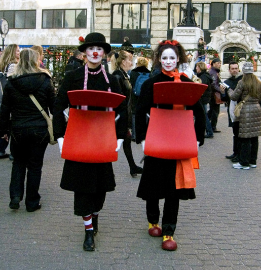 Artisti di strada per la scorsa edizione del Festival della Primavera