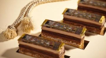 I dolci ispirati a Klimt, nel 200esimo anniversario dalla nascita, in vendita al Café Central di Vienna (foto: Café Central)