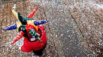 Il Carnevale di Cortina è perfetto per i più piccoli (foto Giacomo Pompanin)