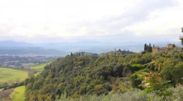 Chianti, Agriturismo La  Gigliola sul colle. Foto  Elena Bianco