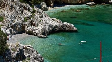 Baia Infreschi, uno dei tratti più belli tra Palinuro e Marina di Camerota