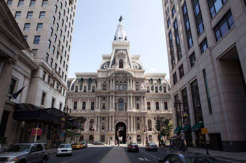 La cupola del City Hall (foto Alamy/Milestone Media)