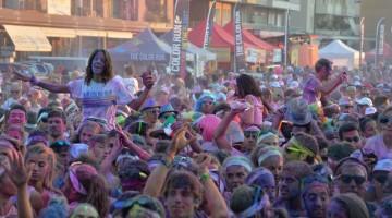 I partecipanti alla Color Run a Milano sono diecimila