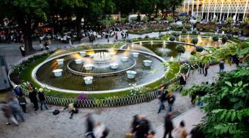 Il parco Tivoli di Copenhagen sfrutta l'energia rinnovabile (foto: Ente Turismo Copenhagen)