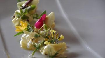 Un piatto del ristorante bio Geranium (foto: VisitDenmark/Ulrika Martensson)