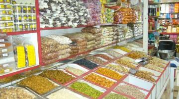 Zafferano, zenzero, cannella: nel Deira Spice Souq di Dubai si trova ogni tipo di spezie (foto: Sara Bovi)