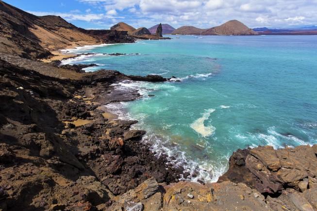 Bartolome island, Galapagos islands, Equador
