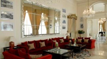 La sala Fellini del Grand Hotel Rimini