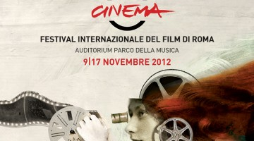 La locandina dell'edizione 2012 del Festival Internazionale del Film di Roma