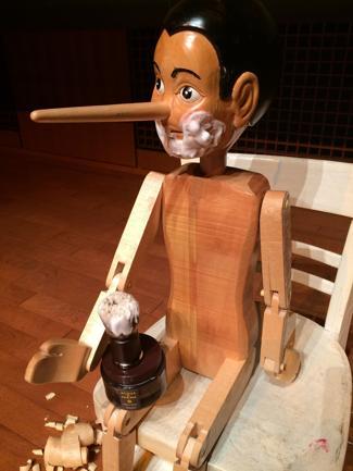Finazzer Flory porta Pinocchio in Giappone