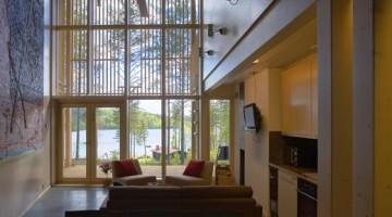 Gli interni ricercati dell'Anttolanhovi Art & Design Villa, elegante resort in Finlandia