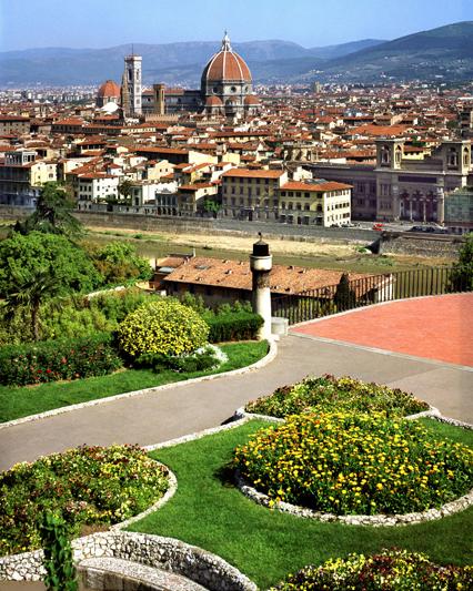La città di Firenze vista da Piazzale Michelangelo