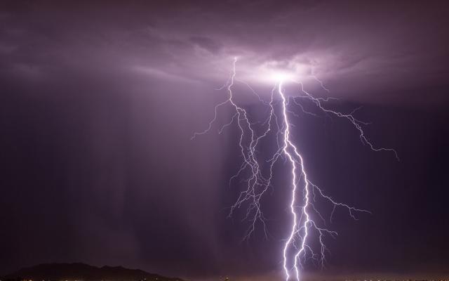 Foto Tempeste e fulmini. Quando la natura dà spettacolo