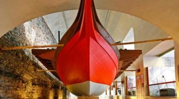 Al Museo Galata, una Galea Genovese fedelmente ricostruita -(foto Stefano Goldberg)