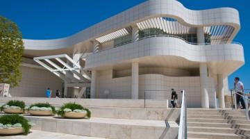 Il Getty Museum di Los Angeles, costruito nel 1997 dall'architetto americano Richard Meier
