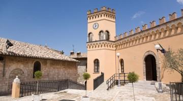Il centro di Giano dell'Umbria (foto Alamy/Milestone Media)