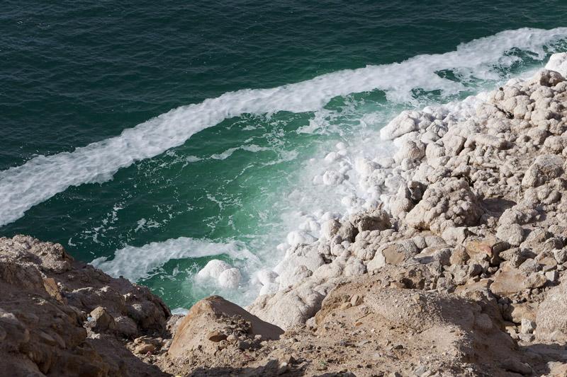 Depositi salini sulla costa del Mar Morto (foto: Alessandro Bianchi)