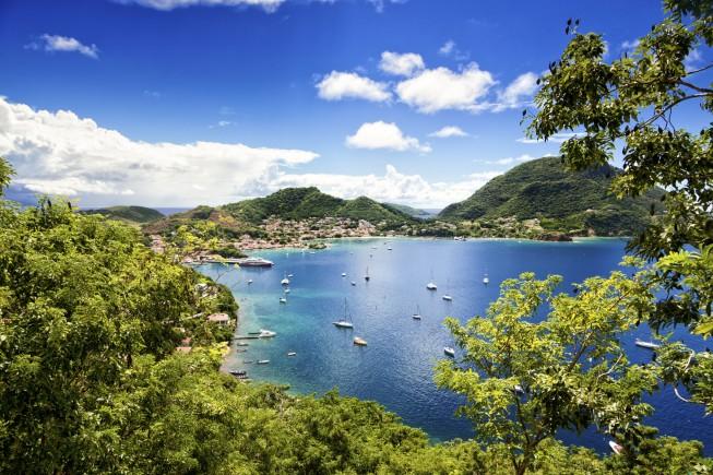 Bay of Terre-de-Haute, Les Saintes islands, Guadeloupe