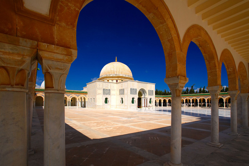 La moschea di Habib Bourguiba a Monastir(foto Alamy / Milestone Media)