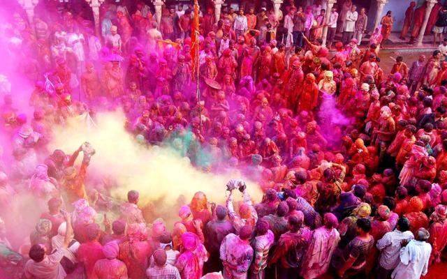 Foto India, il coloratissimo Holi