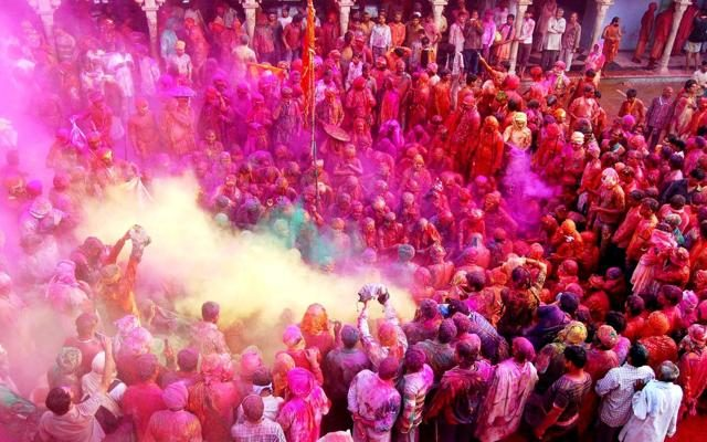 Foto India, il coloratissimo Holi