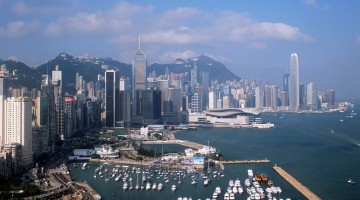 La vista spettacolare sulla metropoli di Hong Kong (foto: Hong Kong Tourism Board )