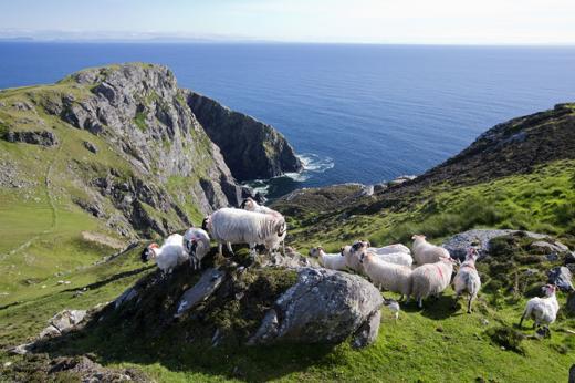 La contea di Donegal regala panorami di forte impatto