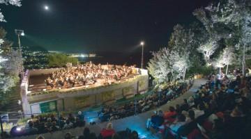 Un concerto ai giardini La Mortella