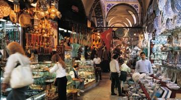 Il Gran Bazar di Istanbul è uno dei mercati al coperto più famosi e antichi al mondo (foto: Uff. Cultura e Informazioni Ambasciata di Turchia)