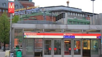 La fermata della metro della vicina via Hakaniemi (foto Alamy/Milestone Media)