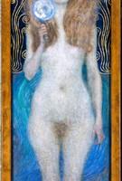 Nuda Veritas di Gustav Klimt (foto: KHM, Österreichisches Theatermuseum)